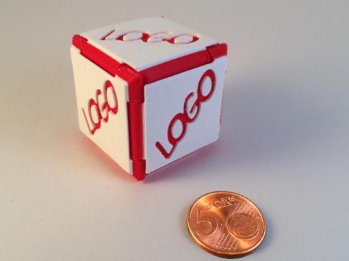 Cube origami